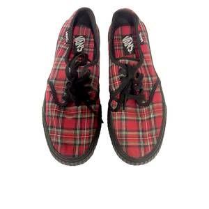VANS Creeper Plaid Sneakers for Women